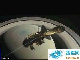 卡西尼飞船将结束使命:或9月15日坠入土星焚毁