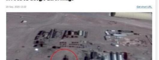 """美国51 区又发现外星人证据"""" 16 米高外星机器人"""""""