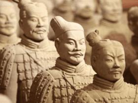 为什么秦始皇陵中的兵马俑,全部都是单眼皮?