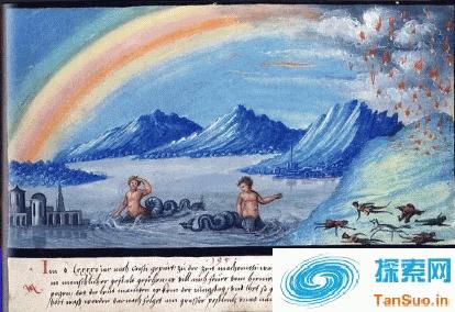 天上下火,怪兽出没,古代欧洲人民生活水深火热|野史秘闻