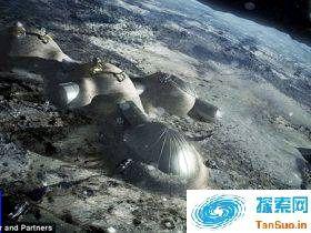欧洲航天局狂想曲:在月球上3D打印一个家