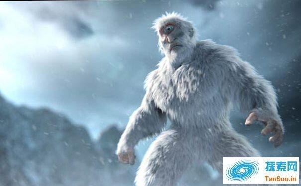 拍摄到西伯利亚神秘雪人的照片