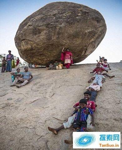 印度奇石屹立千年不倒的秘密