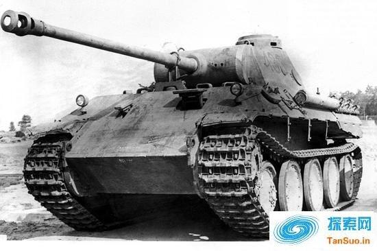 二战德国黑豹坦克覆灭记 最后一战两百多辆被团灭