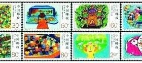 邮票上的儿童画:年龄最小的作者只有6岁