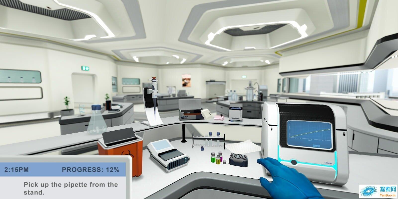 Google 的 Daydream 研发团队将 STEM 实验带进 VR 世界